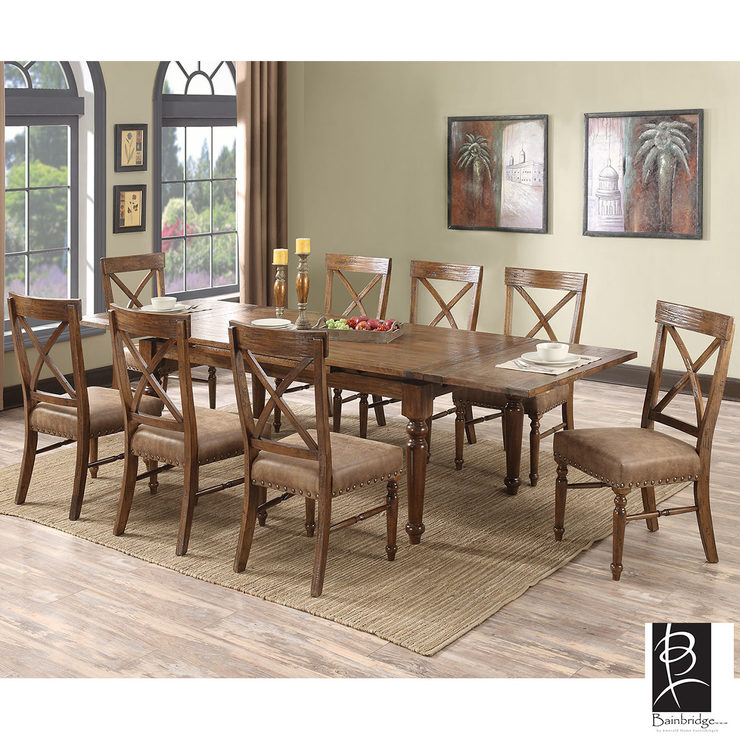 Dining Chairs Costco: Chattanooga Extending Dining Room Table + 8 Chairs