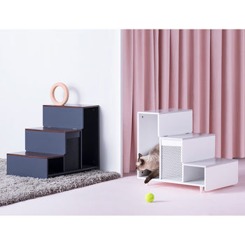Staart Esker Wooden Pet Steps in 2 Colours