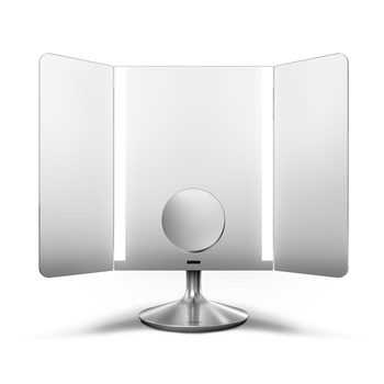 simplehuman Wide View Illuminating Sensor Mirror ST3014