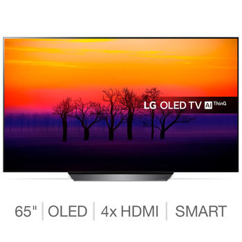 LG OLED65B8PLA 65 Inch OLED 4K Ultra HD Smart TV