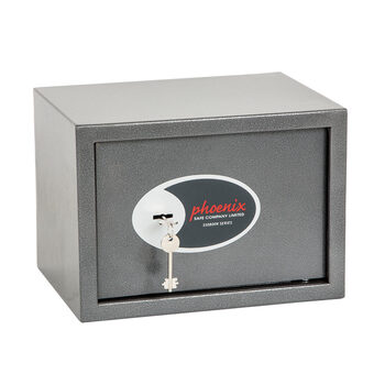 Phoenix Vela Home and Office SS0802K Security Safe with Key Lock, 17 Litres