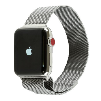 Apple Watch Series 3, MR1U2B/A, Stainless Steel Case with Milanese Loop, 42mm, GPS + Cellular
