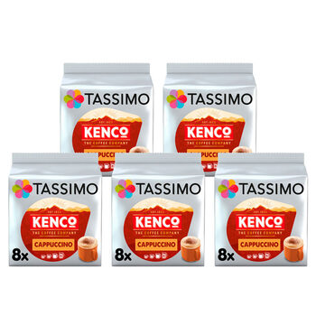 Tassimo Kenco Cappuccino Coffee Pods, 40 Servings