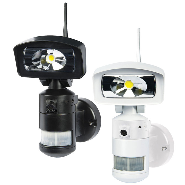 Nightwatcher nw760 16w led robotic security light with wi fi hd nightwatcher nw760 16w led robotic security light with wi fi hd camera 8gb sd in mozeypictures Choice Image