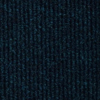 JVL Ribbed Carpet Tile, in Blue - 5m² Per Pack