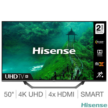 Hisense 50AE7400FTUK 50 Inch 4K Ultra HD Smart TV