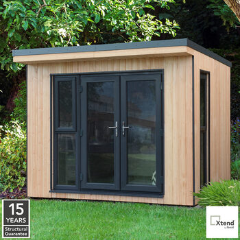 Forest Garden Xtend 3 x 2.5m Insulated Garden Office