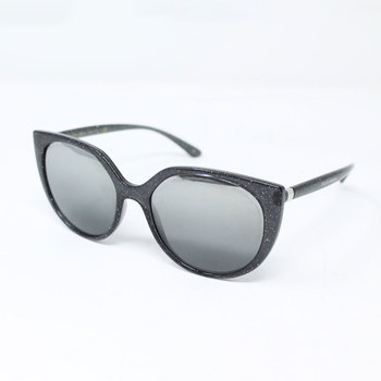 Dolce & Gabbana Grey Glitter Sunglasses with Grey Lenses , DG6119