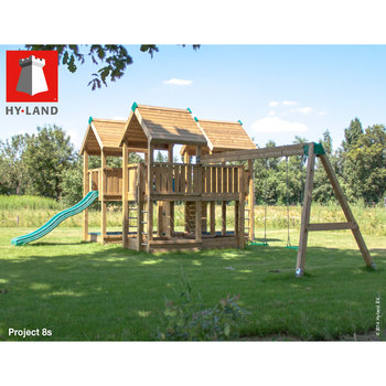 Hy-Land Project 8 Commercial Playcentre with Swing Module (3-12 Years)