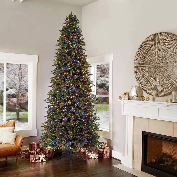 12 Ft Pre Lit Christmas Tree Costco: 12ft (3.6m) Pre-Lit 4,430 Micro-Dot LED Dual Colour