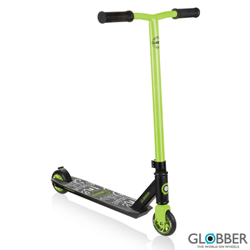 Globber Stunt Scooter GS 360 in Black/Green