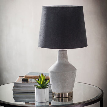 Betong Concrete Effect Table Lamp