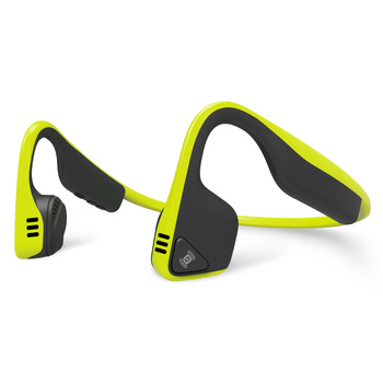 Aftershokz Trekz Titanium Wireless, Bone Conduction Open Ear Headphones in Ivy