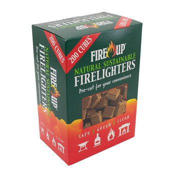 Fire Up Natural Fire Lighters, 200 Pack