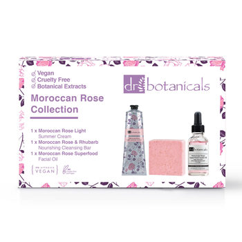Dr Botanicals Moroccan Rose Collection