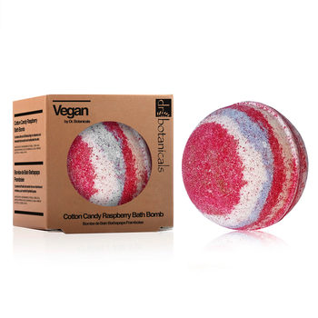 Dr Botanicals Cotton Candy Bath Bomb, 2 x 200g