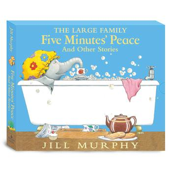 The Large Family: Five Minutes' Peace and Other Stories, 5 Book Collection (3+ Years)