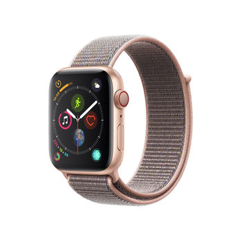 Apple Watch Series 4, MTVX2B/A, GPS & Cellular, 44mm Gold Aluminium + Pink Sand Sport Loop