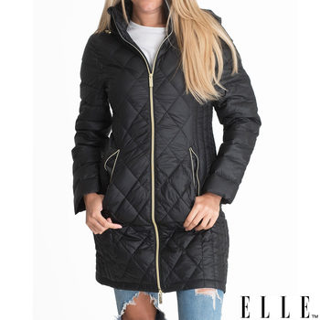 Elle Janine Women's Lightweight Down Jacket in 3 Colours and 5 Sizes