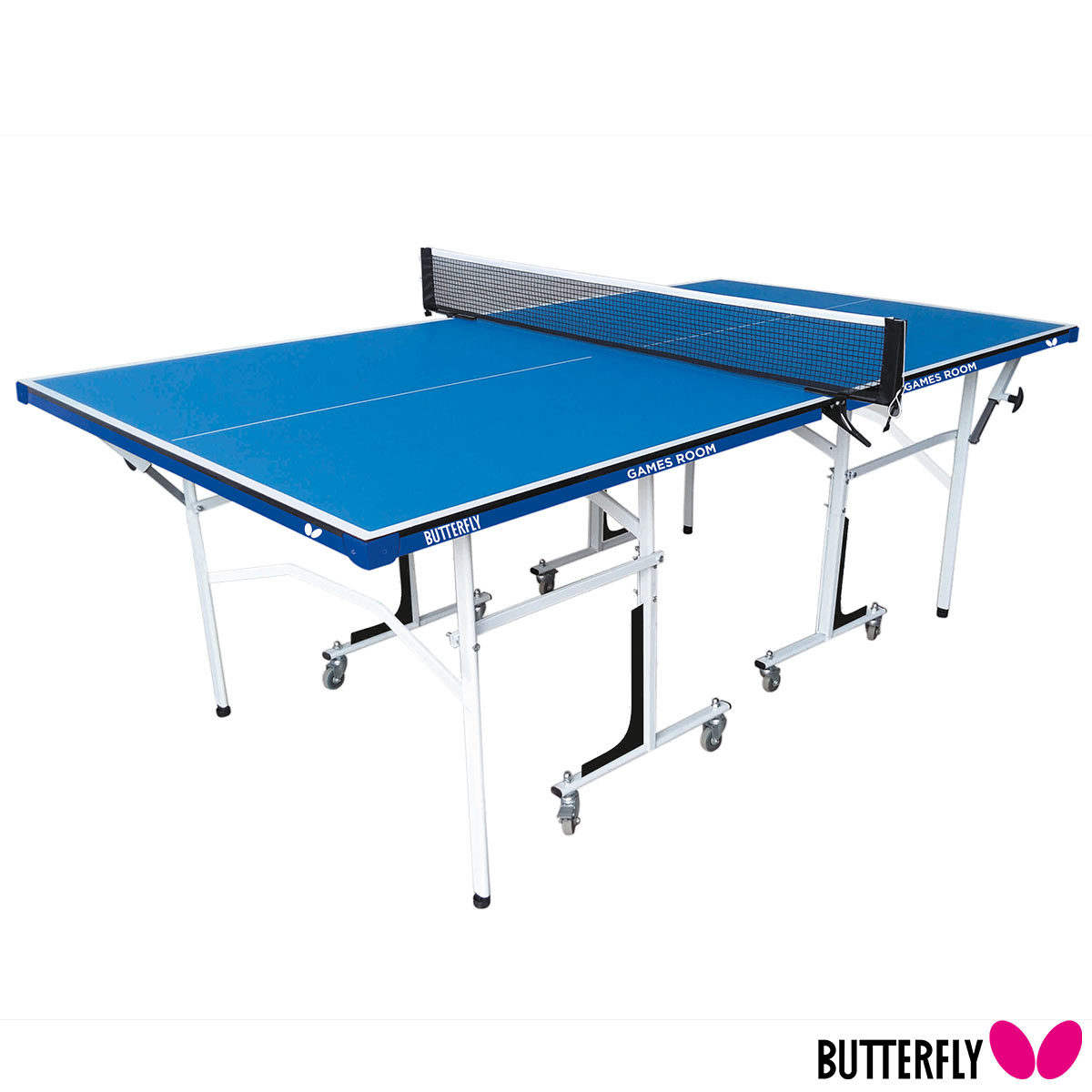 Butterfly Games Room Indoor 3 4 Size Table Tennis Table With 2