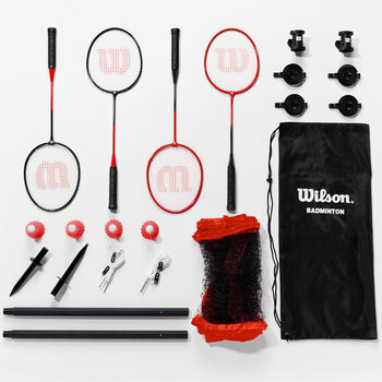 Wilson 4 Player Badminton Set
