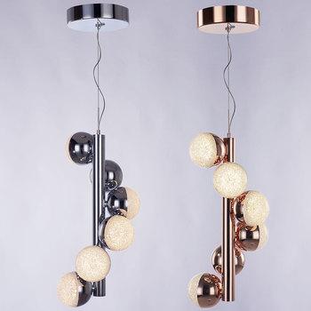 Azad Atomo Vertical 6 LED Pendant Light in 2 Colours