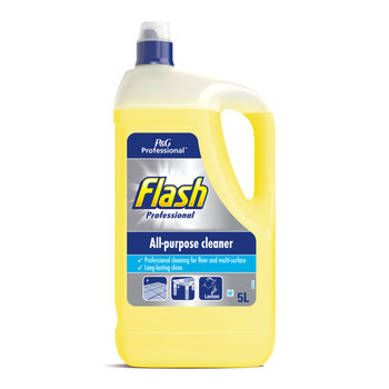 Flash Lemon Hard Surface Cleaner, 5L