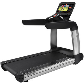 Installed Life Fitness Commercial Grade Elevation Series Treadmill with Discover ST Console