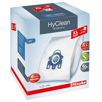 Miele HyClean GN 3D Efficiency Vacuum Cleaner Bag x 8