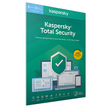 Kaspersky Total Security 2021, 5 Devices 1 Year