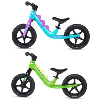 "Royalbaby 12"" (30.48 cm) Dino Balance Bike in 2 Colours"