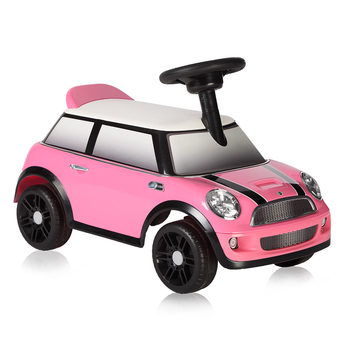 Rollplay MINI Cooper Children's Foot-To-Floor Ride On - Pink (18+ Months)