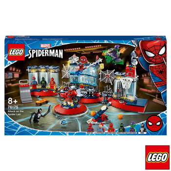 LEGO Marvel Spider-Man Attack on the Spider Lair - Model 76175 (8+ Years)