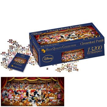 Clementoni Disney 13,200 Piece Classic Puzzle Set 291cm x 134cm Built (14+ Years)