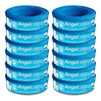 Angelcare Refill Cassetes x 12 Pack AC1112  (0+ Months)
