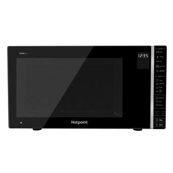 Hotpoint MWH 303 B, 30L Grill Microwave in Black