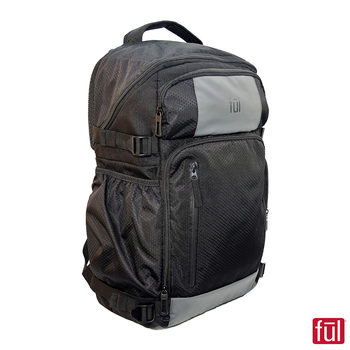 FUL Tempter Laptop Backpack in Black