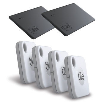 Tile Bluetooth Tracker 2020 Mate & Slim Combo, 6 Pack