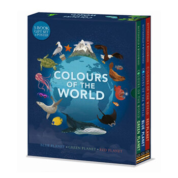 Colours of the World 3 Book Set (6+ Years)