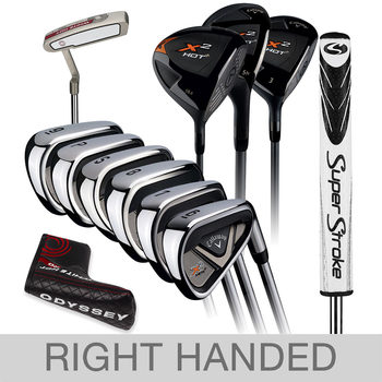 Callaway X2Hot 10 Piece Golf Set - Right Handed