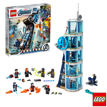 LEGO Marvel Avengers Tower Battle - Model 76166 (8+ Years)