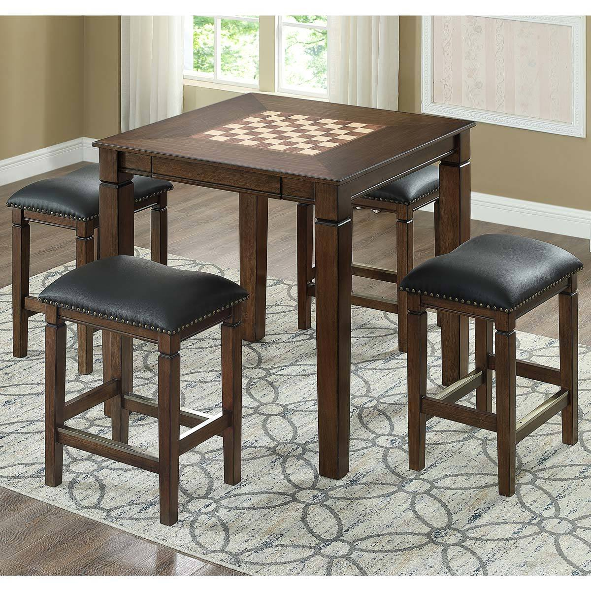Well Universal Game Top Table With 4 Stools Game Accessories Costco Uk