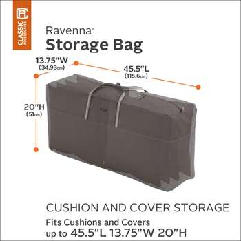 Classic Accessories Ravenna Medium Cushion & Cover Storage Bag