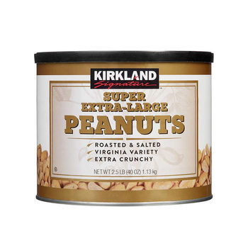 Kirkland Signature Super Extra-Large Roasted & Salted Peanuts, 1.13kg