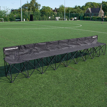 QUICKPLAY Pro Bench 9 Seater Folding Team Bench
