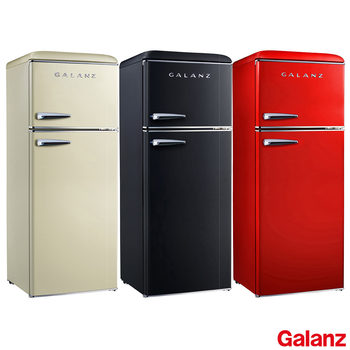 Galanz RFFK006, Retro Fridge Freezer A+ Rating in 3 Colours
