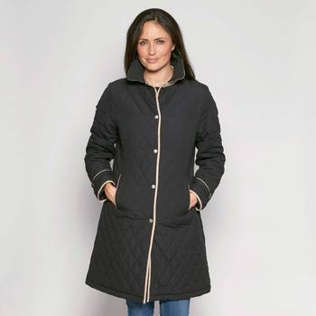 David Barry Women's Contrast Trim Coat in 6 sizes and 3 Colours