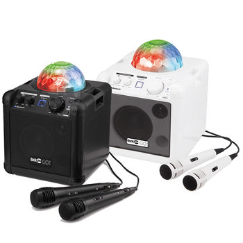 RockJam Go Lightshow Bluetooth Rechargeable Karaoke Speaker in 2 Colours