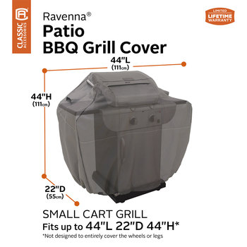 "Classic Accessories Ravenna Small Barbecue Grill Cover 44"" (111cm)"