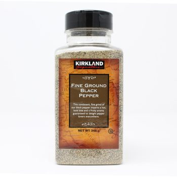 Kirkland Signature Fine Ground Black Pepper, 348g